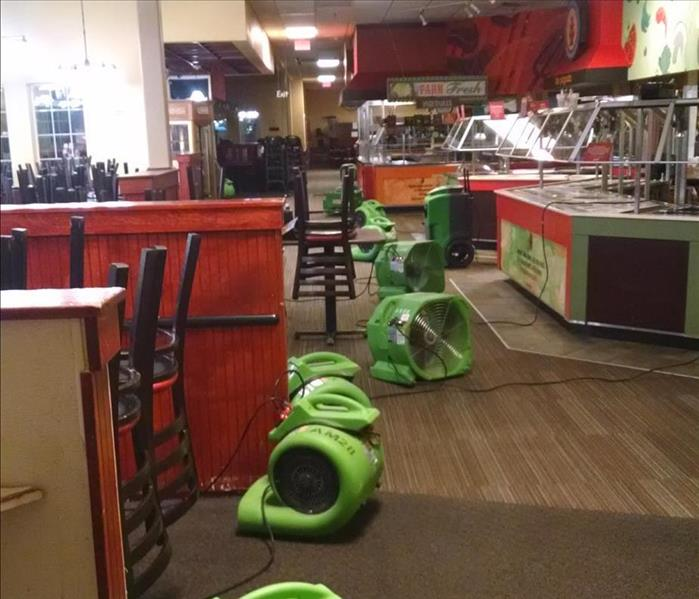 Water Loss at a Restaurant in Englewood, CO After