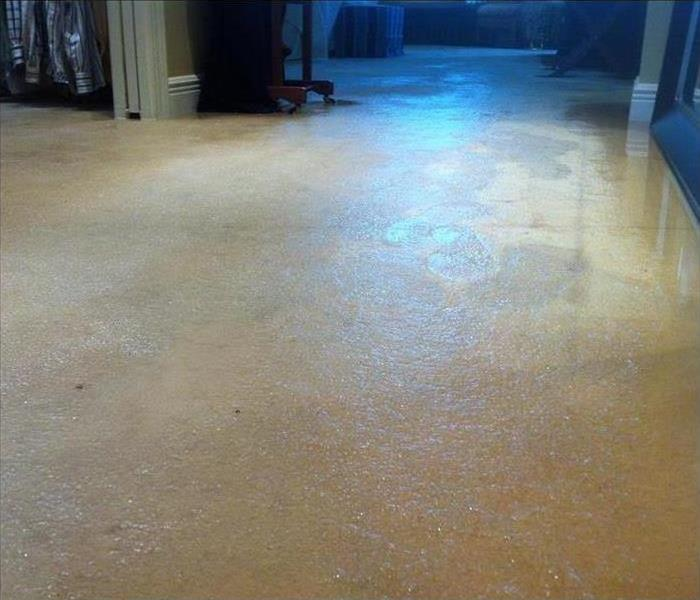 Water Damage – Parker Home Before