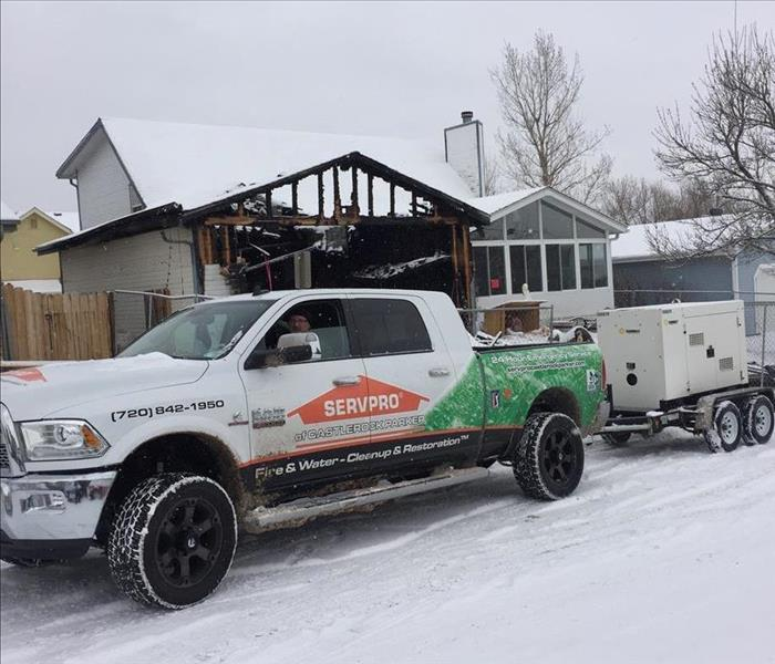 Generator Transport for Fire in Englewood, CO