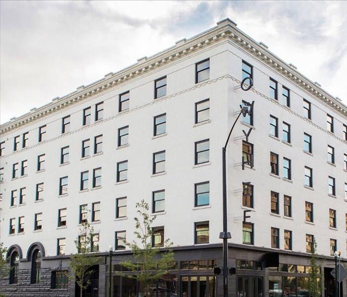 Commercial SERVPRO Restores Historic Commercial Building After Water Loss