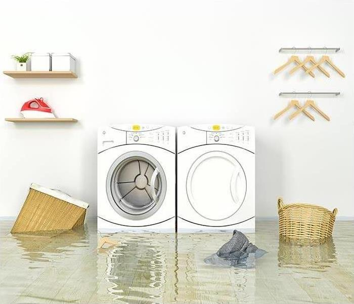 Water Damage Is Your Washing Machine Leaking?